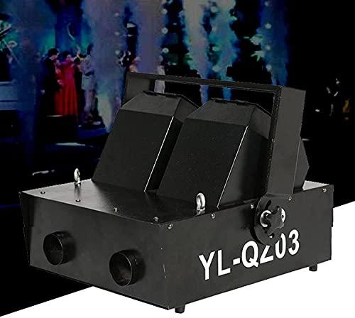 ZCX CO2 Machine Single/Double Nozzle Fog Machine, Air Column Mist Machine Stage Effect Haze Air Column Machine for DJ Performance, Stage Show CO2 Machine (Color : Double Nozzle)