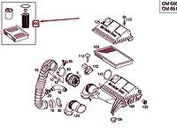 MB VITO W639 Service Filter Insert Kit A0001803409 NEW GENUINE