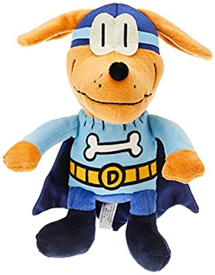 MerryMakers Dog Man Bark Knight Plush Toy, 9-Inch, from Dav Pilkey's Dog Man Book Series by MerryMakers