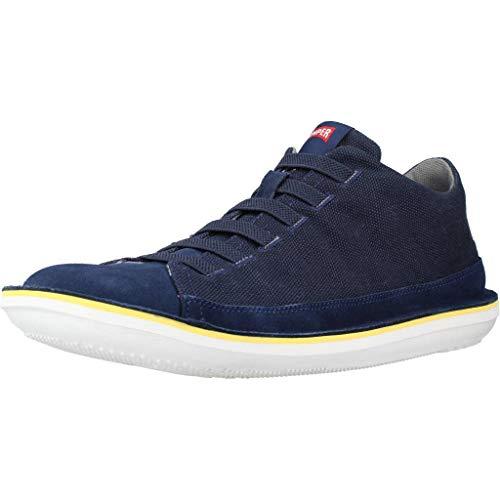 CAMPER 36791 Beetle, Bota de Baloncesto Hombre, Azul, 43 EU
