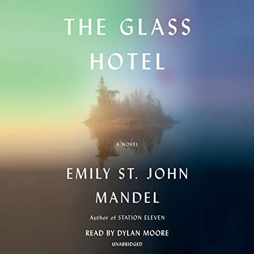 The Glass Hotel audiobook cover art