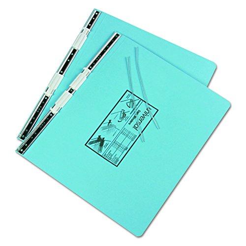 Universal 15441 Pressboard Hanging Data Binder, 14-7/8 x 11 Unburst Sheets, Light Blue