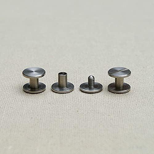 Lysee Screws - 5pics 10pics 20pics rivet wa style set Elegant Price reduction flat screw