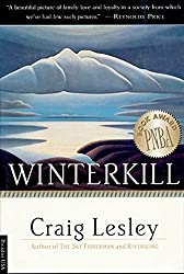 Books Set in Oregon: Winterkill by Craig Lesley. Visit www.taleway.com to find books from around the world. oregon books, oregon novels, oregon literature, oregon fiction, oregon authors, best books set in oregon, popular books set in oregon, books about oregon, oregon reading challenge, oregon reading list, portland books, portland novels, oregon books to read, books to read before going to oregon, novels set in oregon, books to read about oregon, oregon packing list, oregon travel, oregon history, oregon travel books