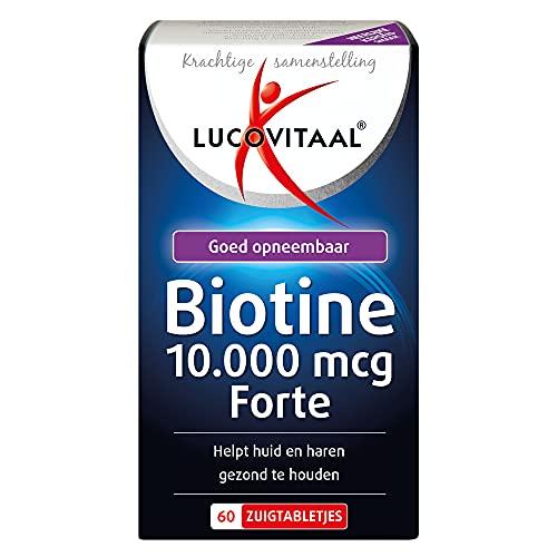 Lucovitaal Tabletten Voedingssupplementen Biotine 10.000 mcg Forte