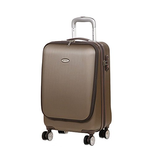 SNOWBALL - Valise 4 Roues Cabine PC Max 17' Original Robust - Beige, ABS