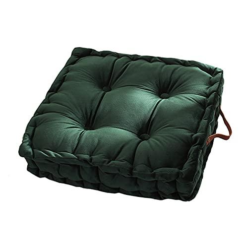 LH-Footstools Fodera per Cuscino da Pavimento Decorativa - Fodera per Pouf Quadrato in Velluto Cuscino futon Addensato Cuscino per Sedia da Pranzo Cuscino per Divano - 45 X 8 cm,#2