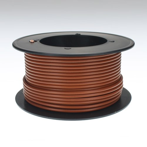Kabel 1,5 qmm braun 25m Litze Leitung Fahrzeug Auto