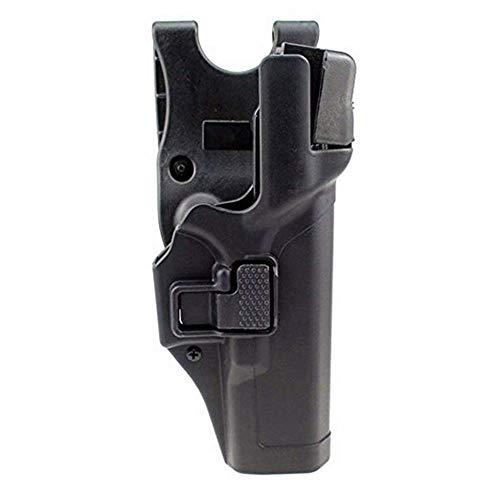 Gexgune Tactical Holster Encubrimiento Militar Nivel 3 Cerradura Mano Derecha Cinturón Pistola Pistola Pistola para Beretta 92/96 / M9 / M9A1 (No Brigadier/Elite / 92A1 / 96A1) con o sin rieles