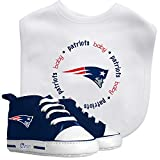 Baby Fanatic Bib with Pre-Walker, New England Patriots