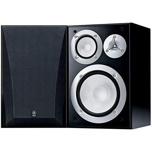 Yamaha NS-6490 3-Way Bookshelf Speakers Finish (Pair) Black (Renewed)