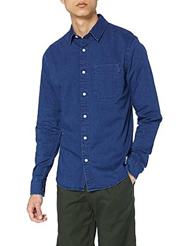 Calvin Klein Jeans Męska koszulka Calvin Klein dla mężczyzn, Mid Indygo, rozmiar S