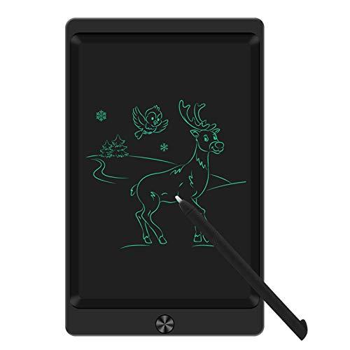 Sunany Tavoletta Grafica LCD Scrittura 8.5 Pollici Colorato,Elettronica Tavoletta Grafica,Ewriter Portatile Digitale Regali per Bambini e Adulti, Adatto a Casa Scuola e in Ufficio (Nero)