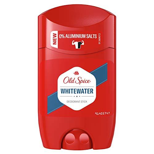 Old Spice Whitewater Deodorant Stick | 50ml | Deo Stick Ohne Aluminium Für Männer | Männer Deo Mit Langanhaltendem Duft