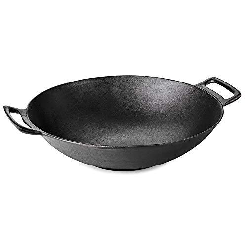 Flash Grillrost-Einsatz BBQ Gusseisen Wok passend für Weber GBS Grill