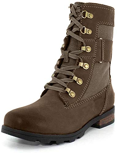 Sorel - Women's Emelie Conquest Waterproof Boot, Major, 9.5 M US