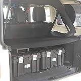 Bosmutus Cargo Cover PRO by Reversible for TOP ON/Topless J-eep JK TJ JL YJ JKU Sports/Sahara/Freedom/Rubicon 2 Door/4 Door Unlimited 1985-2018 Models j-eep wrangler Accessories (black6)