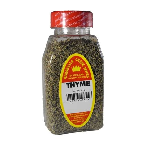 bd5d267e6513 Amazon.com   Marshalls Creek Spices Thyme Leaves Crushed