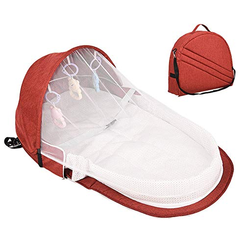 Why Choose DragonPad Baby Bassinet for Bed, Portable Folding Baby Sleeping Bed with Toys Travel Bag,...