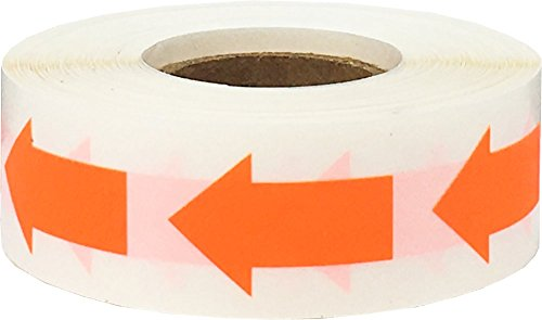 Flecha de codificación de color de 1 pulgada