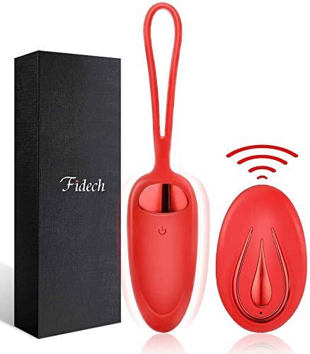 Masseur Portable Sans Fil - FIDECH 12 Modes Silicone Imperméable