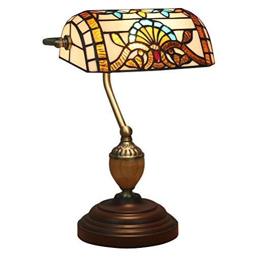 Odziezet Lampes murales Tiffany, vintage, mini, lumière murale, éclairage pour intérieur et extérieur - 2 lumières 27 cm Fd004-27