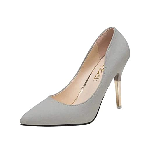 a1e5072fc AOJIAN Women s Fashion Thin Heels Shoes Shallow Pointed Toe High Heels Shoes
