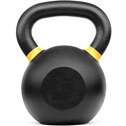 LifeSport Training Equipment - Premium Kettlebells: Wide Flat Base, Industry Standard Color Coding,...