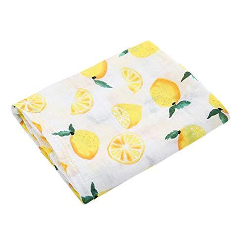Magnificent Baby Baby-Girls Newborn Oranges and Lemons Reversible Blanket