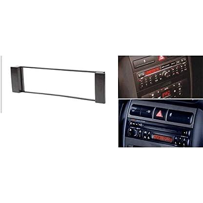 1-DIN-Autoradio-RadioRahmen-RadioBlende-einbause-fuer-Audi-A3-A6-Seat-LeonToledo