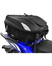 durevole zaino per casco ad alta capacit/à Jinyao Borsa per sedile posteriore da moto impermeabile per lo stoccaggio del casco multifunzionale