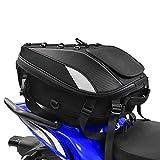 Mochila para casco de motocicleta, portátil, impermeable, de gran capacidad, carcasa rígida de fibra de carbono, ligera, para viajes, senderismo,camping, ciclismo,bolsa de almacenamiento para cámara