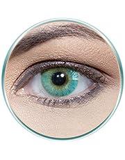 Solotica Hidrocor Marine Unisex Contact Lenses, Solotica Hidrocor Cosmetic Contact Lenses, Yearly Disposable- Marine Color