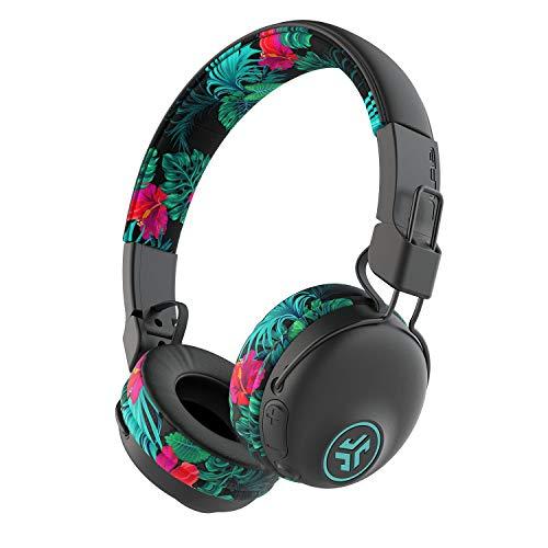 JLab Audio Studio Bluetooth Wireless On-Ear Headphones | 30+ Hour Bluetooth 5 Playtime | EQ3 Sound | Ultra-Plush Faux Leather & Cloud Foam Cushions | Track and Volume Controls | Tropical…