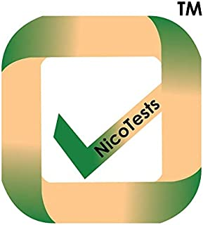 Nicotine/Tobacco Test Kit for Employment, Medical and Insurance - 10 Pack by NicoTests(TM)