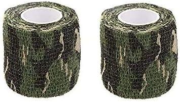Camo Outdoor Tarnband 5cmx4.5m Freien Jagd Tape Gewebeband Stealth Selbsthaftend