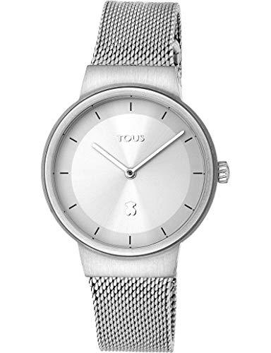 Tous Let Mesh 000351505 - Reloj en Acero con Cadena milanesa para Mujer.