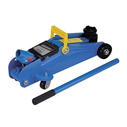 Silverline Tools 633935 - Cric idraulico a carrello, 2 tonnellate