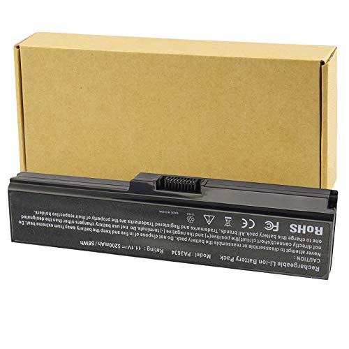 Futurebatt Laptop Battery fit Toshiba Satellite A665 C655 L645 L645D L650 L650D L655 L655D L670 L675 M300 M301 M305 M505 U405 Series, p/n PABAS228 PA3634U-1BRS PA3634U-1BAS PA3635U-1BAM PA3636U-1BRS
