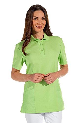 clinicfashion 12812016 Polo-Schlupfhemd hellgrün für Damen, Mischgewebe, Größe XXXL