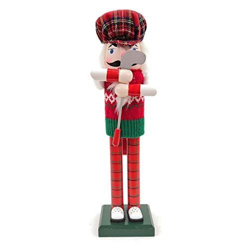 Nutcracker Figures Christmas Ornaments Gift Wooden Nutcracker Doll, 14' Tall