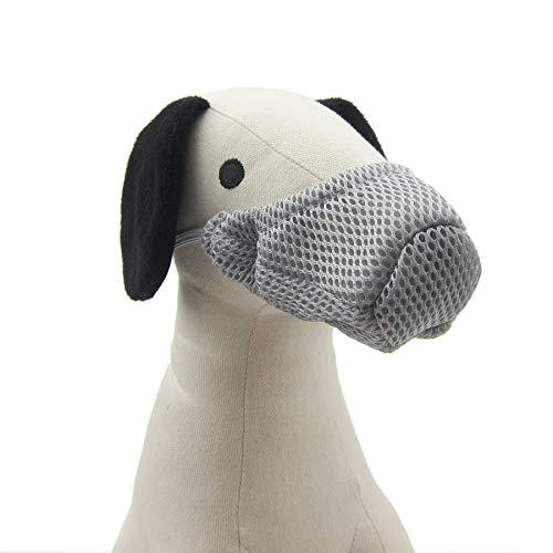 Alfie Pet - Johan Adjustable Quick Fit Nylon Muzzle - Color: Grey, Size: XS