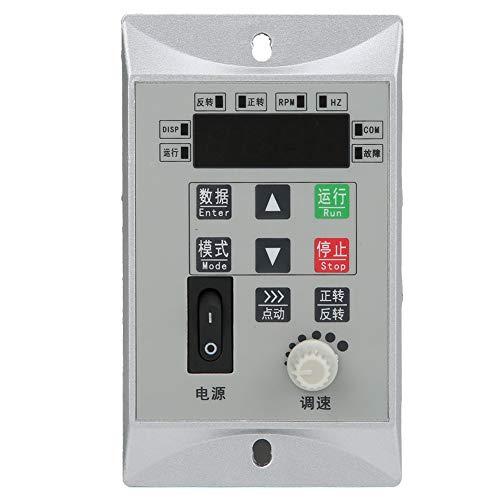 Convertidor de frecuencia monofásico VFD Inverter Micro Motor Motor Controlador de velocidad 120W 220V