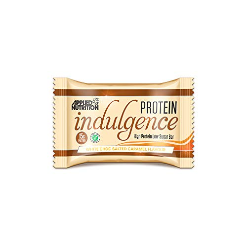 Applied Nutrition Protein Indulgence Bar 12x50g White Chocolate Salted Caramel