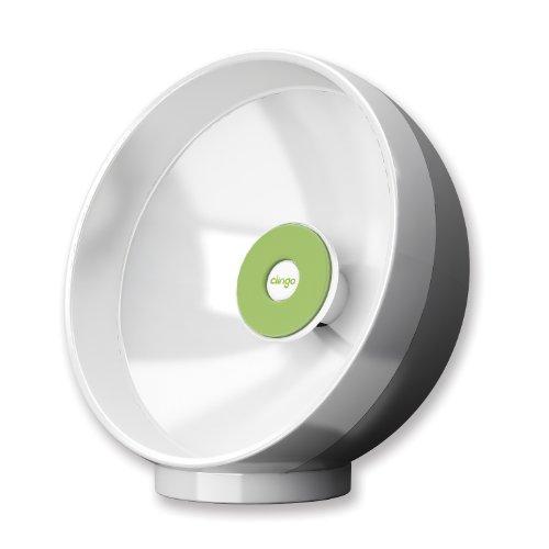 Clingo 07006 Sound Sphere akoestische versterker met Clingo-systeem voor smartphone en MP3-speler wit