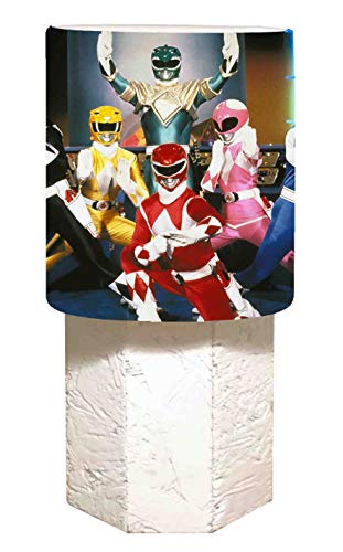 La lampe de chevet Power Rangers