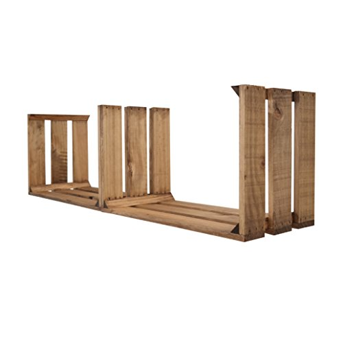 Decowood - Cabecero para Cama Dormitorio, Lamas Horizontales Corte Recto, Madera de Pino Gallego Decapado Blanco - 160 x 80 cm