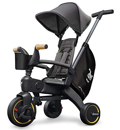 Liki Trike S5 - das weltweit kompakteste & vielfältigste Dreirad - [10-36 Monate] (Grey Hound / grau)