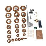 Sharplace 1 Kits de Reparación de Saxofón Accesorios para Músicos Producción Musical - Multicolor a, tal como se describe