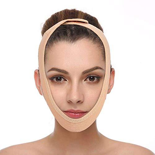 3°Amy Bandage Lifting 1pcs V Ligne Masque, Face Lift Minceur Double Band Visage Jugulaire Perte de Poids Ceintures Soins de la Peau Menton Lifting Fermeté Wrap